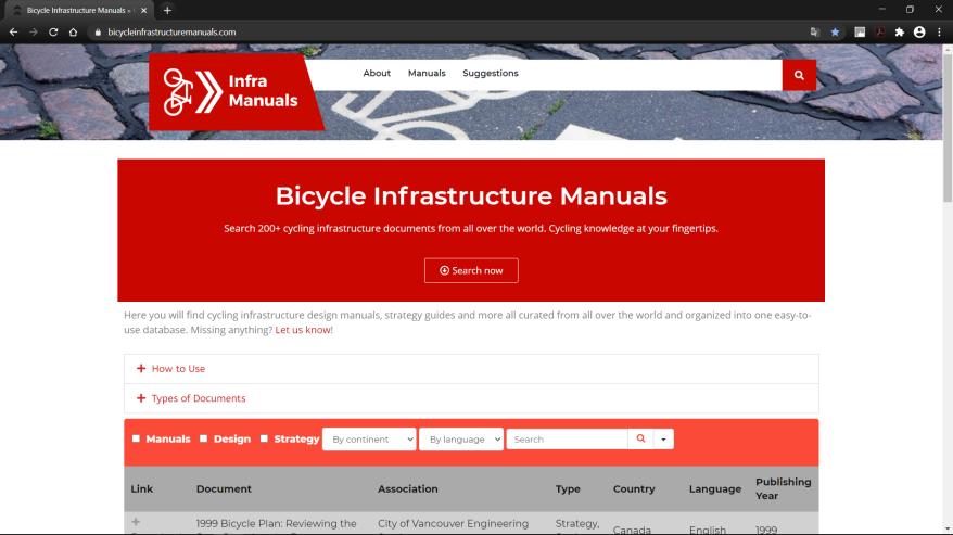 04 biclycleinfrasctructuremanuals